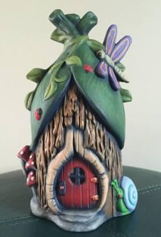 Rainforest Fairy House