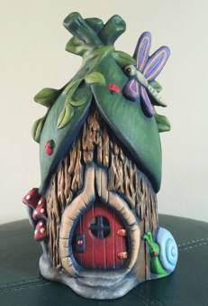Rainforest Fairy House